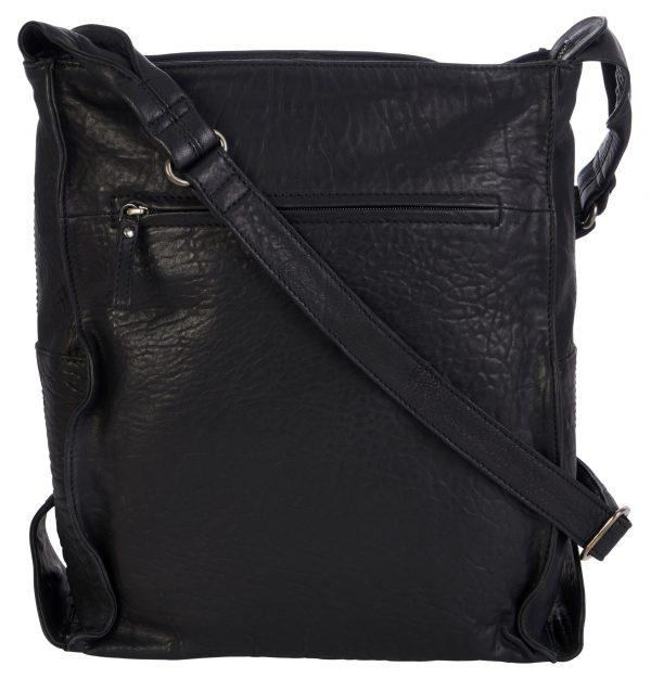 30425 SCHWARZ 3 scaled Damen, Frauen, Handtasche, Handtaschen, Leder, Schultertaschen 30425-black