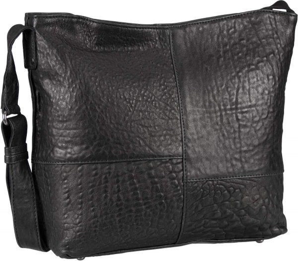 30451 black Damen, Frauen, Frühjahr/Sommer 2019, Handtasche, Handtaschen, Leder, Schultertaschen, Taschen, Vintage 30451-black