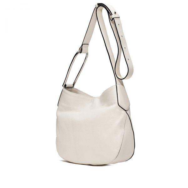BS 6494 19PE OLX white1 Damen, Frauen, Frühjahr/Sommer 2019, Handtaschen, Leder, Schultertaschen, Taschen BS 6494/19PE OLX-1