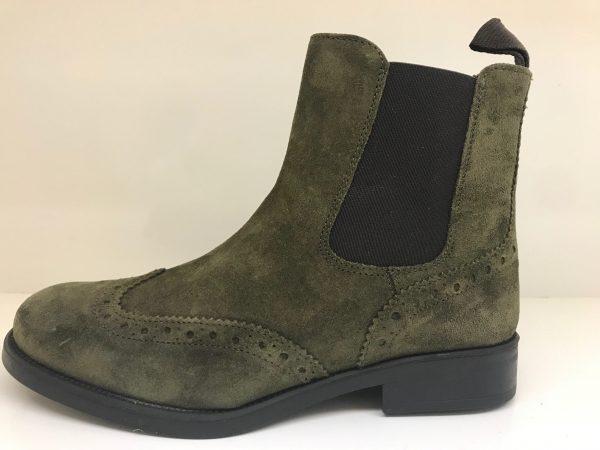 IMG 6739 Rauleder, Schuhe, Stiefelette I-8028