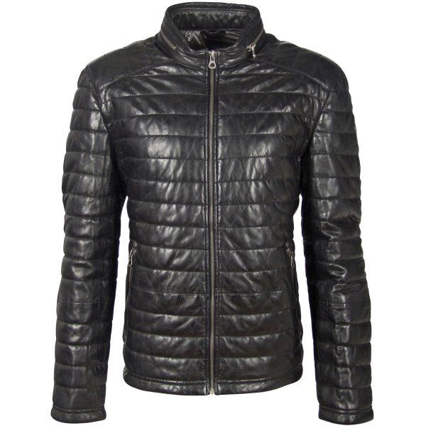 GBComrie LACEV W black 1 Leder, Männer, Vintage M0012863-M-Black