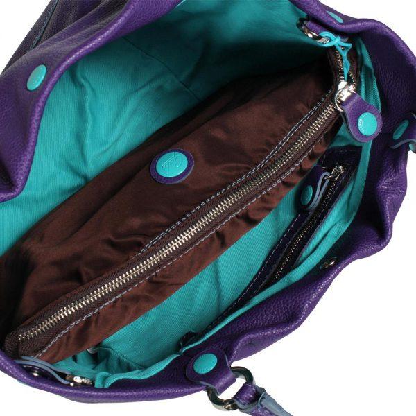 viola tg m offen Frauen, Handtaschen, Schultertaschen VIOLA SZ M-blue